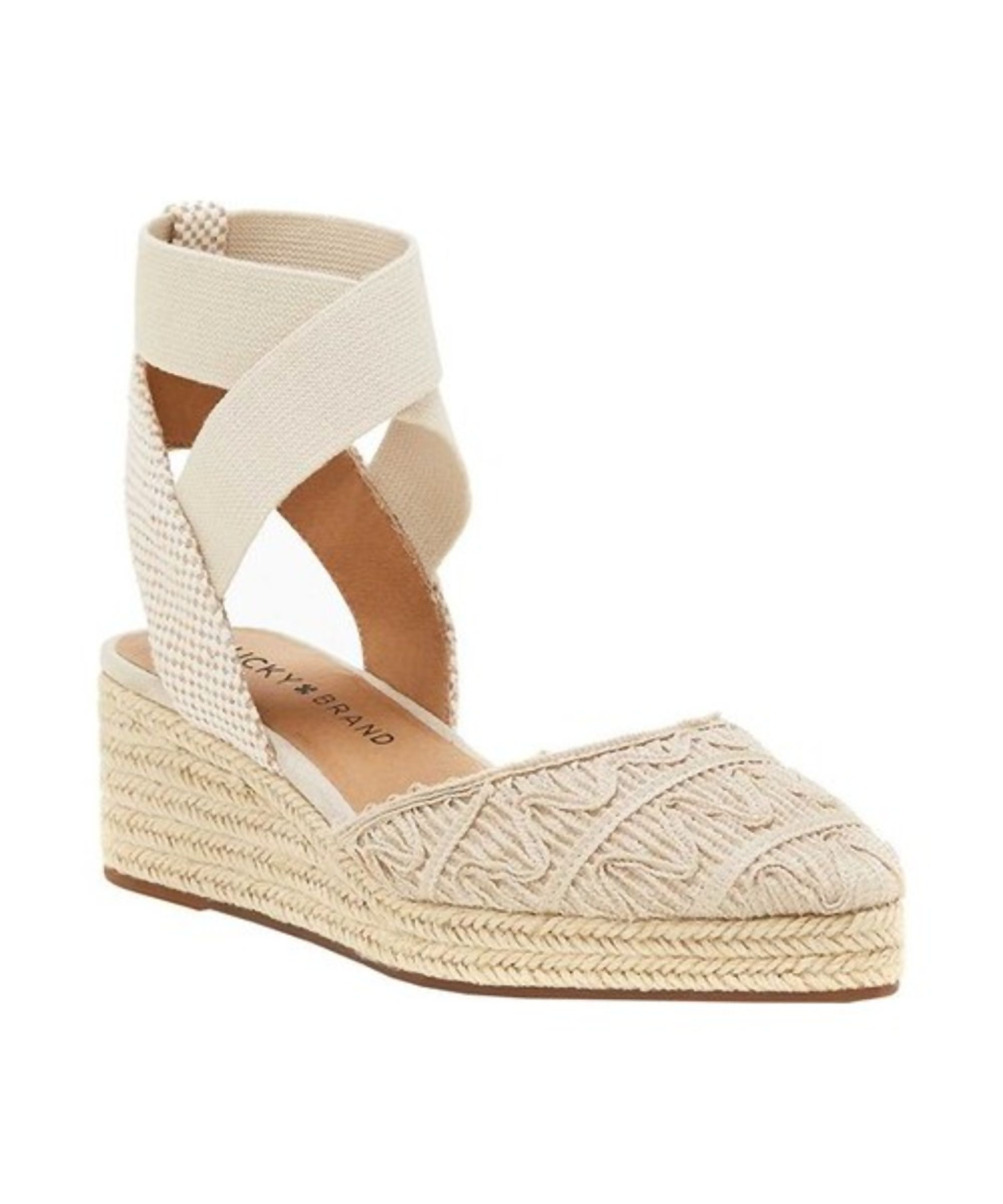 tk R1XP17 Sandals 2016 Womens Shoes Lucky Brand Kyndra Natural Platinum Beautiful