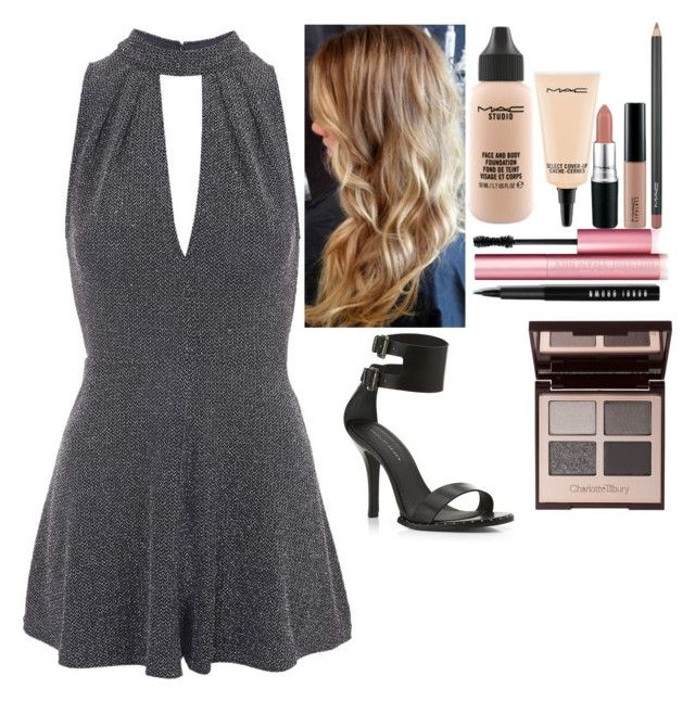 """""""Untitled #5018"""" by kimboloveniallhoran ❤ liked on Polyvore featuring Topshop, KG Kurt Geiger, MAC Cosmetics, Too Faced Cosmetics and Charlotte Tilbury"""