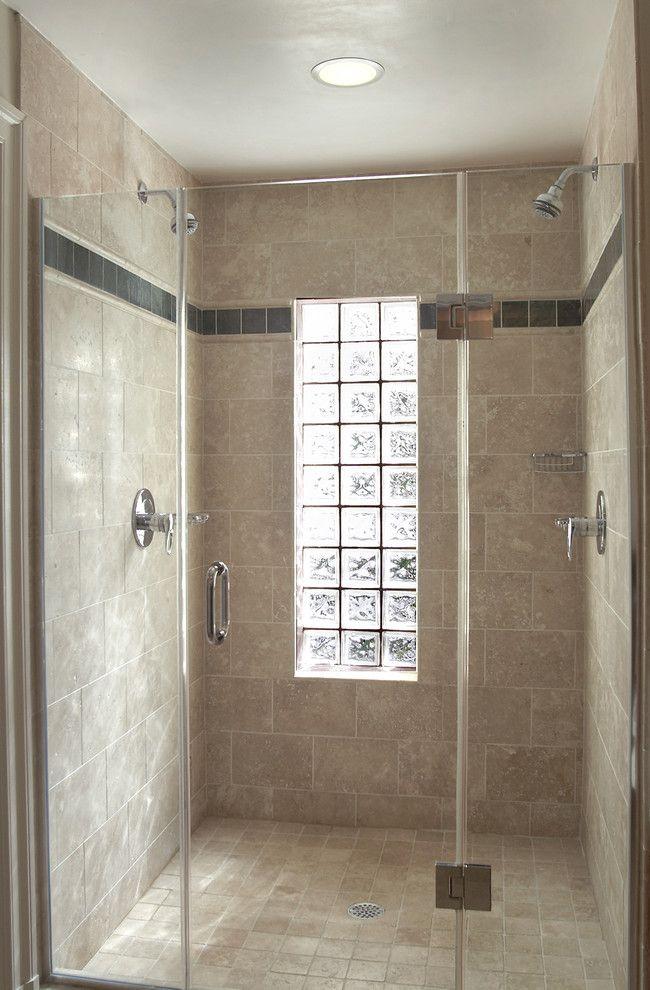Glass Block Window In Shower