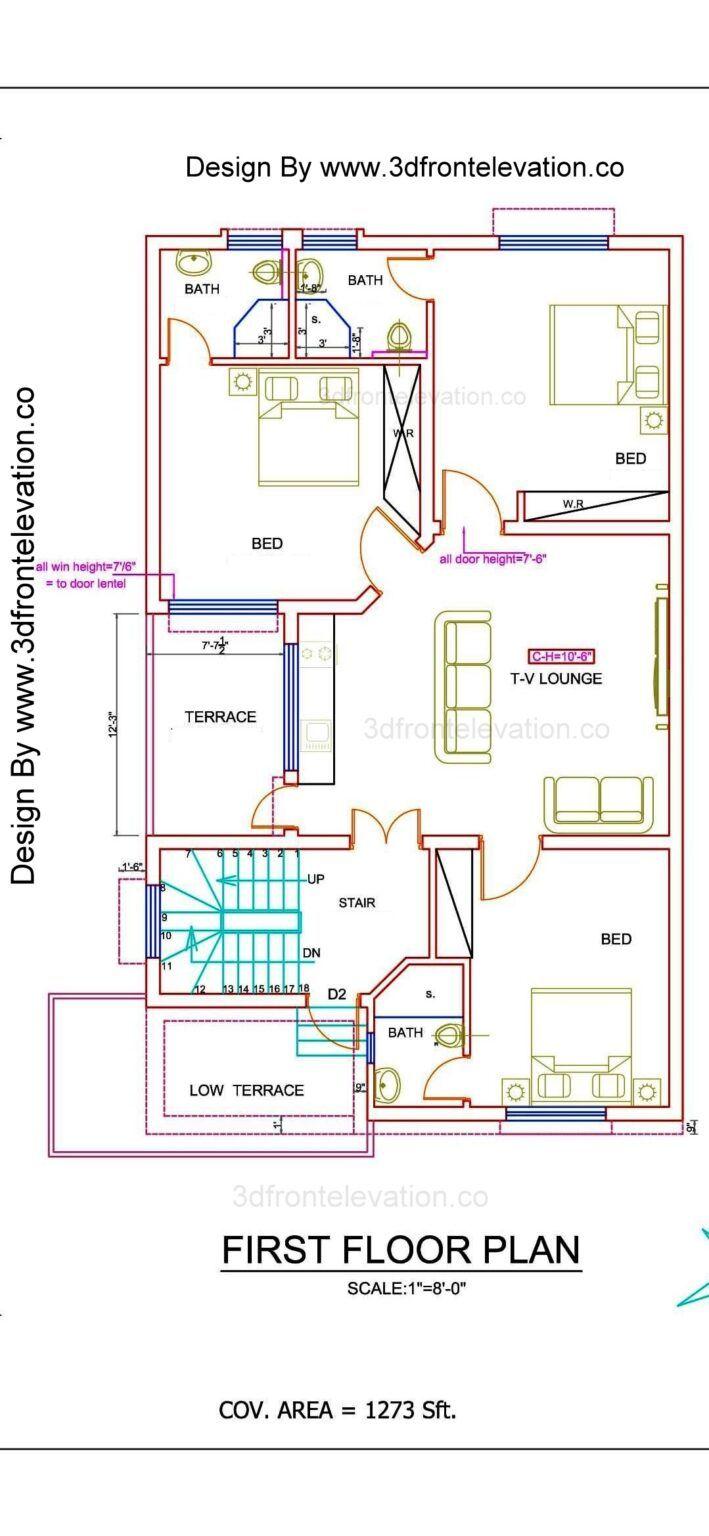New 10 Marla House Plan Design Bahria town DHA Rahbar Lake City