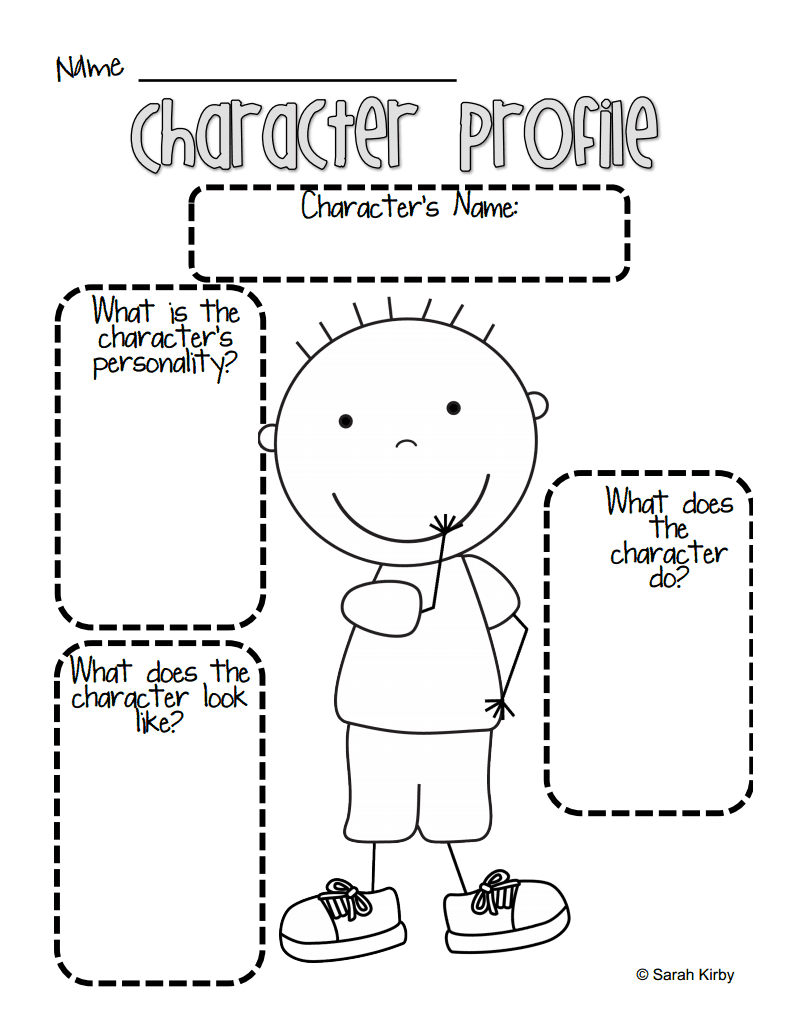 hight resolution of Boy Character Profile.pdf   Reading workshop