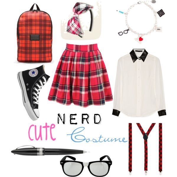 Cute Girl Nerd Outfit Ideas