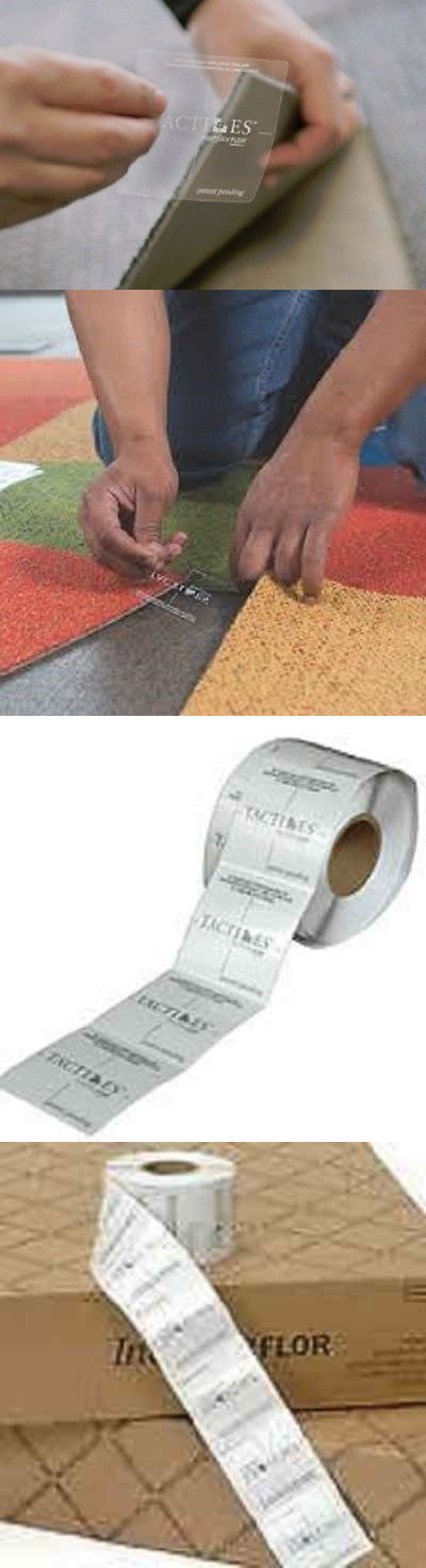 Carpet Tiles 136820 Interface Flor Tactiles 40 Pieces Adhesive