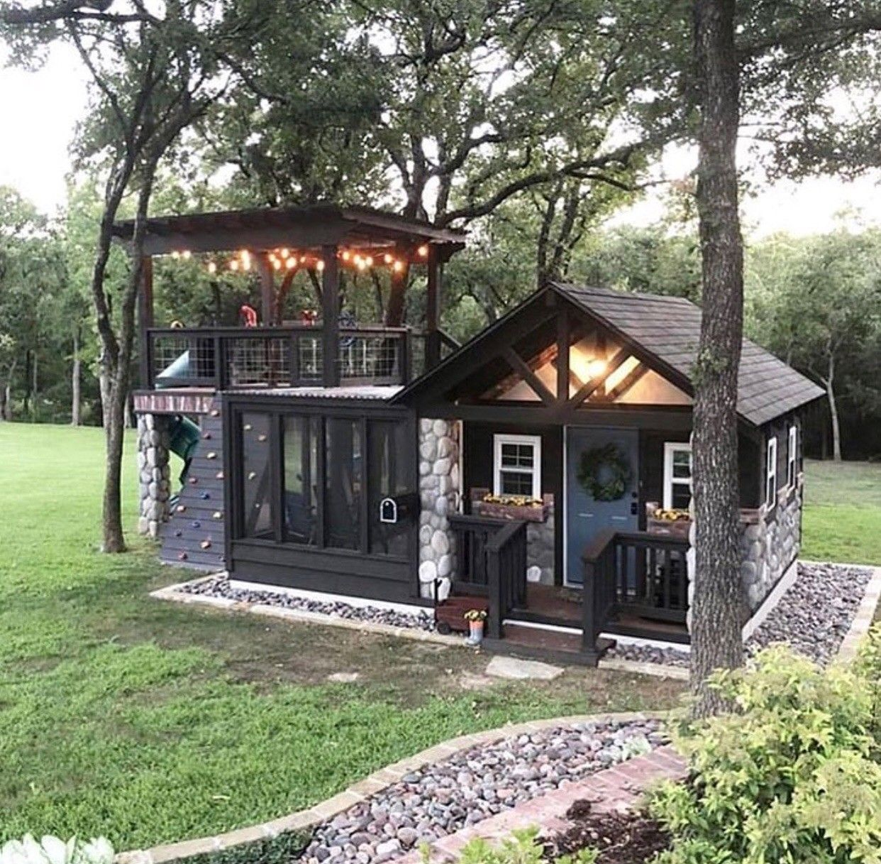Architecture Inspiration Home Exterior Photo Of Child S Luxury Playhouse By Grossman Design Build Small Dream Homes Tiny Cabins Tiny House Design