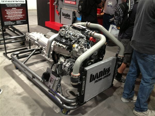 Banks 4x4 Diesel Powertrain Conversion Package - Jp Magazine