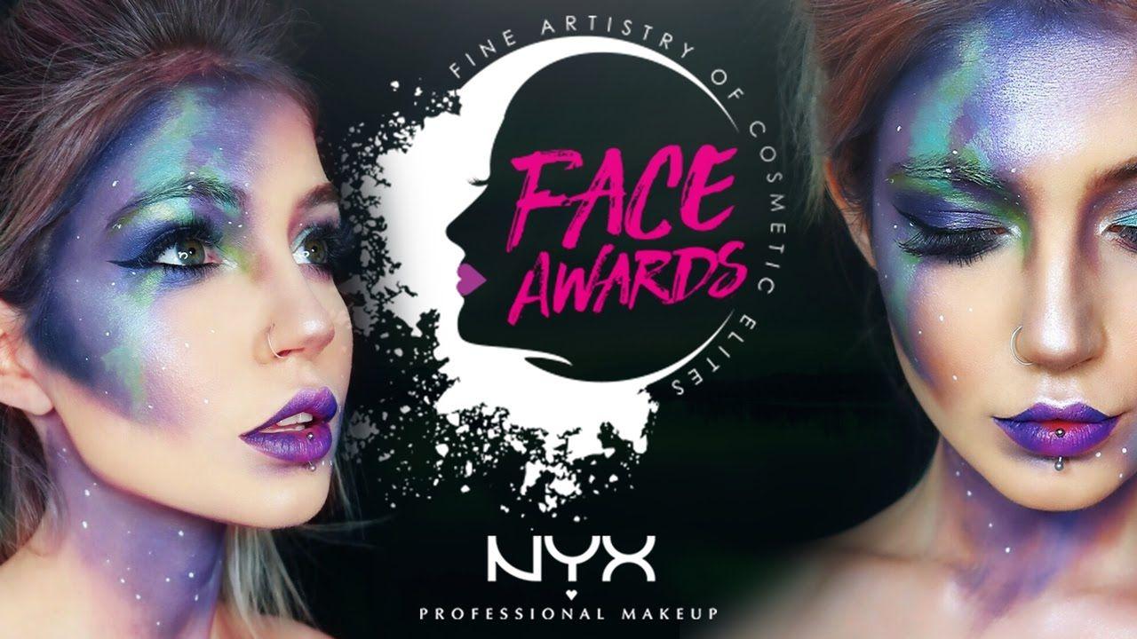 NYX Face Awards Northern Lights faceawardsuk