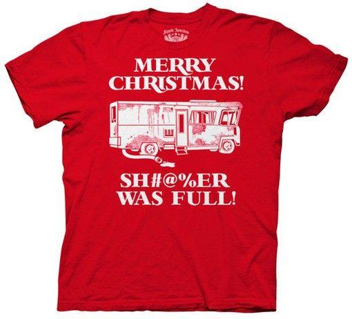 Christmas Vacation Shitters Full shirt HaHa Pinterest