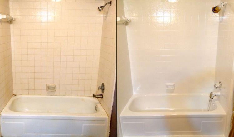 Badezimmer Fliesen lackieren – 37 Ideen für Motive & Muster ...