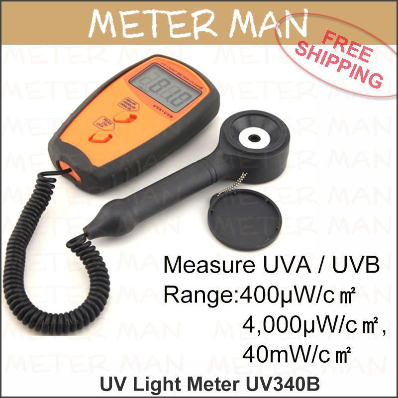 $216.99 (Buy here: http://appdeal.ru/dvp9 ) Professional  Lux Meter Light Meter 4000 counts LCD Display UV sensor Light Correction Filter UV Light Meter UV340B for just $216.99