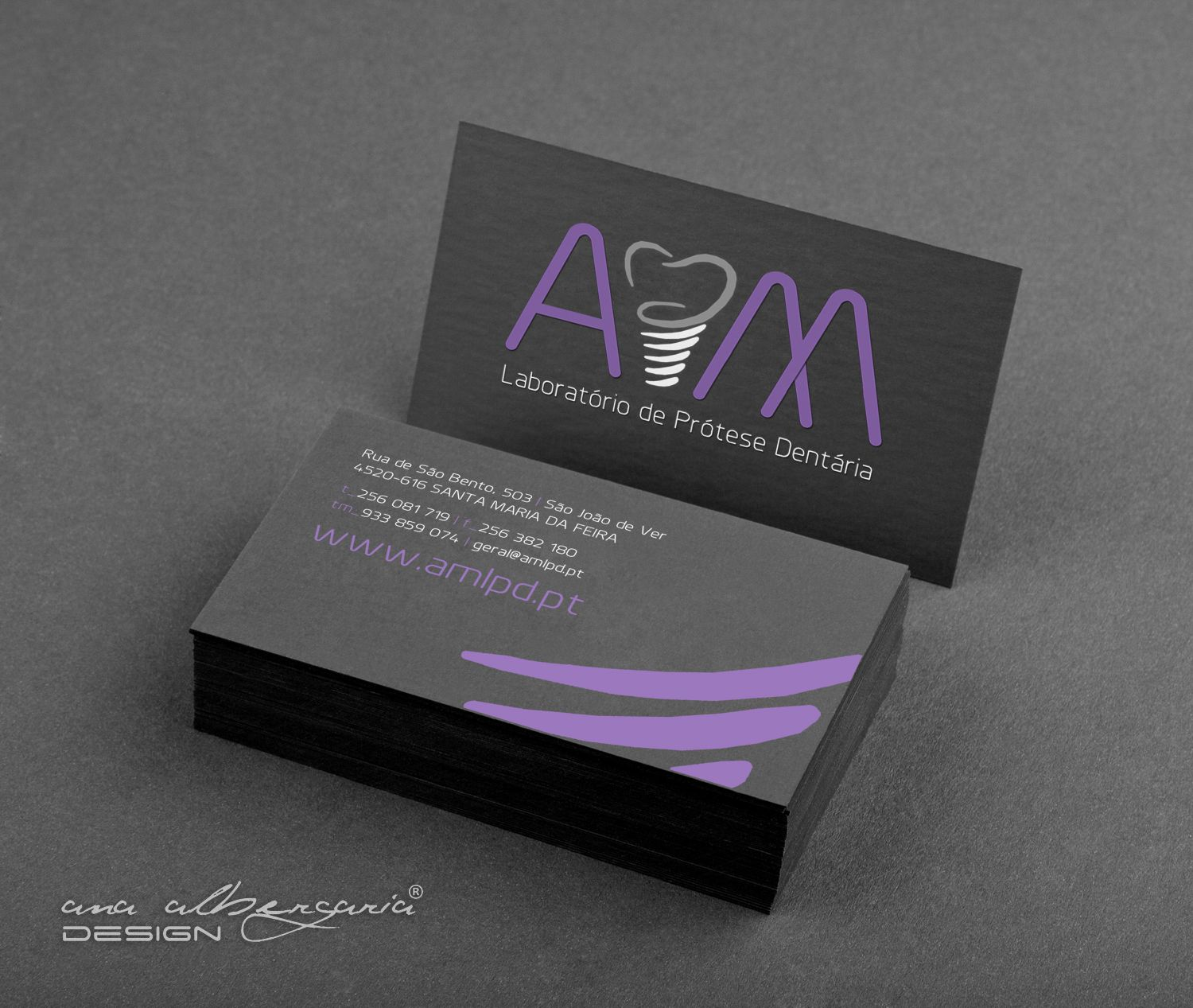 Business Card for Dental Prosthesis Laboratory. | Business Cards ...