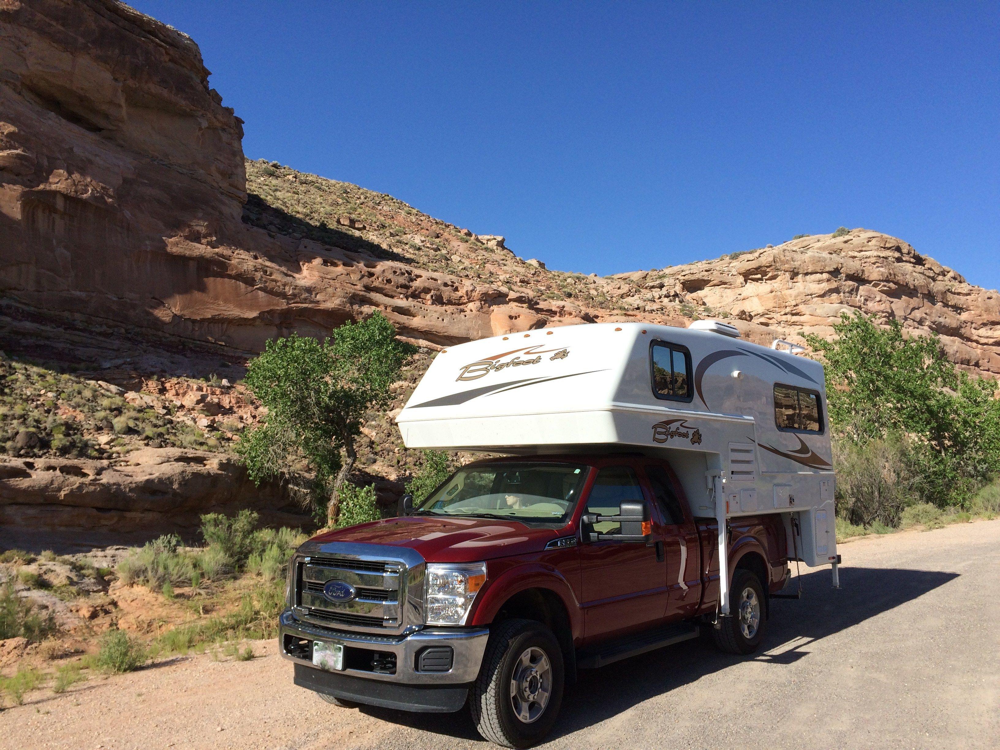 Bigfoot 25c9 4sb Review Truck Camper Adventure Campers