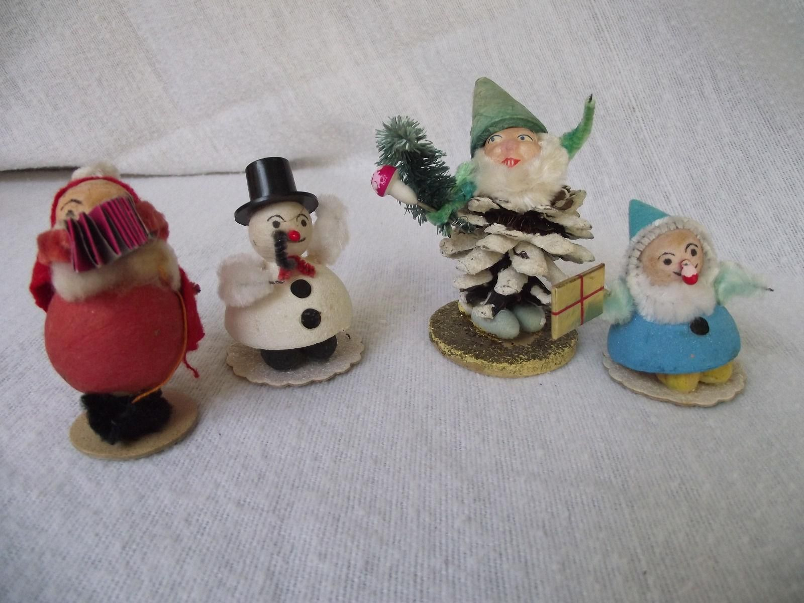 Vintage Woolworth Co Christmas Ornaments Made In Japan Christmas Ornaments Vintage Christmas Ornaments Vintage Christmas Crafts
