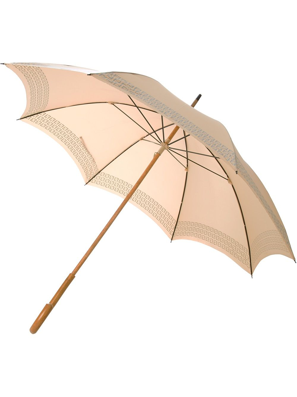 Fendi Pre Owned Monogram Trim Umbrella Farfetch Vintage Monogram Fendi Umbrella