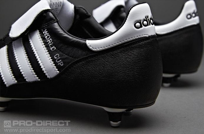 857dcca29737fc adidas World Cup SG - Black White Soft Ground Football Boots