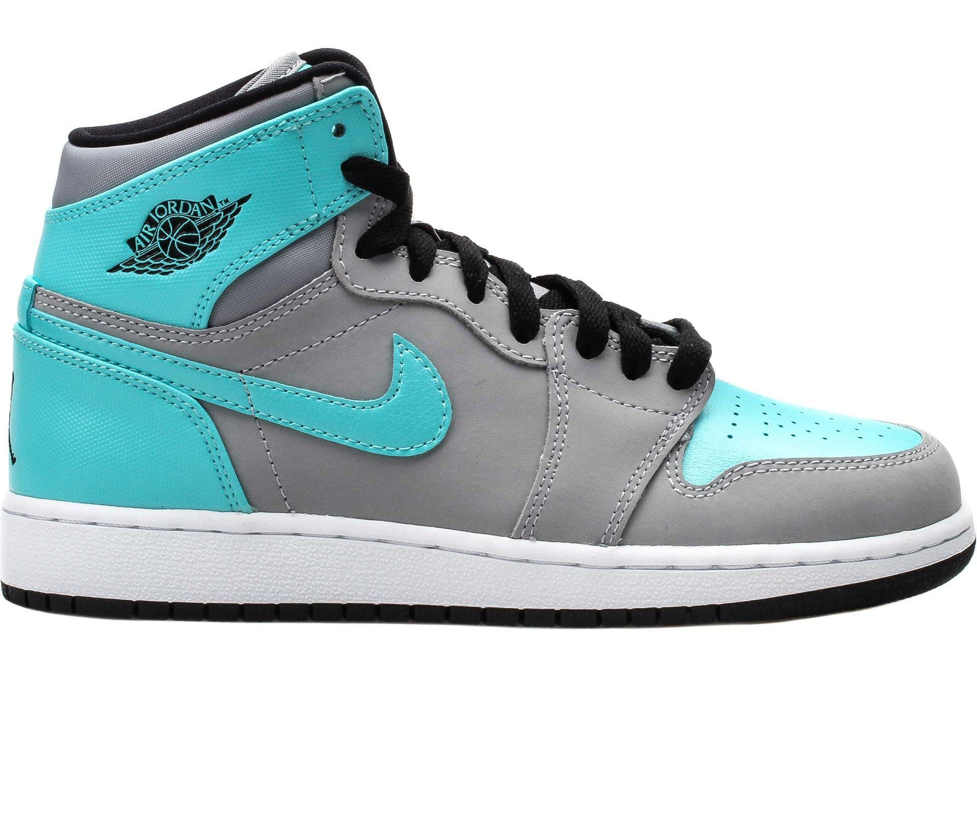 air jordan 1 blue and grey