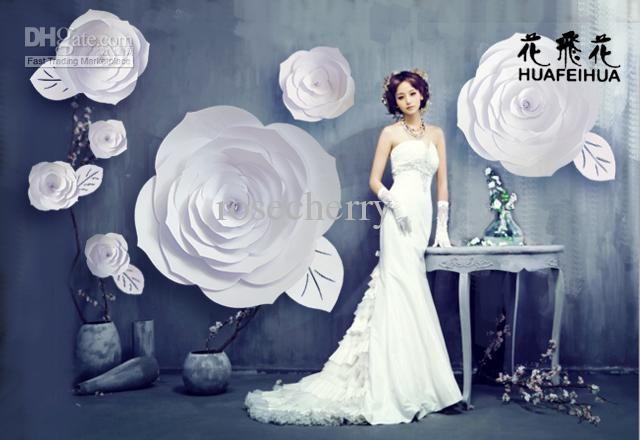 Wholesale Paper Flowers Buy Window Display Large Paper Flowers