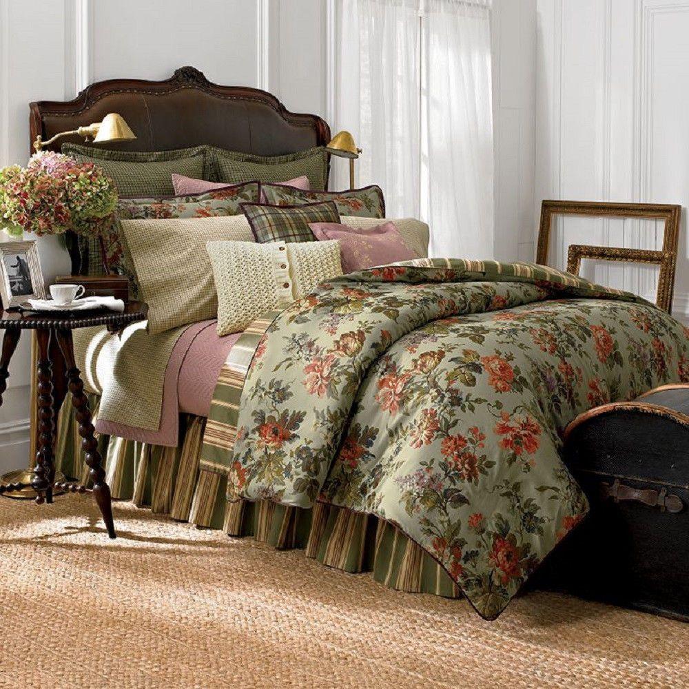 Noop Chaps Ralph Lauren Brittany 3 Pc King Comforter Set