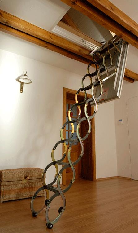 Best Insulated Lusso Attic Ladder Attic Ladder Stairs Design 400 x 300