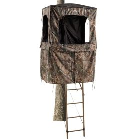 Field Amp Stream Outpost 2x 18 Ladder Stand Hunting