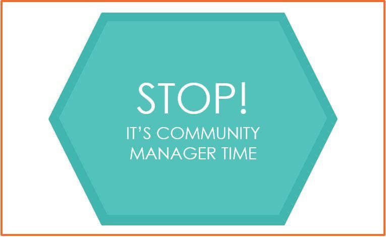 Stop- it's community manager time! - Milja Nohynek