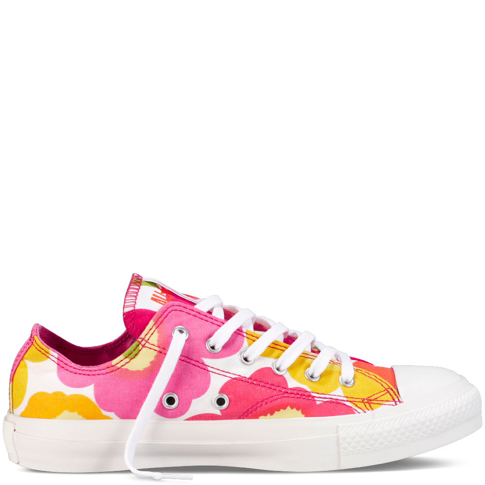 Marimekko + Converse. I have these and they are so cute and comfortable!!!