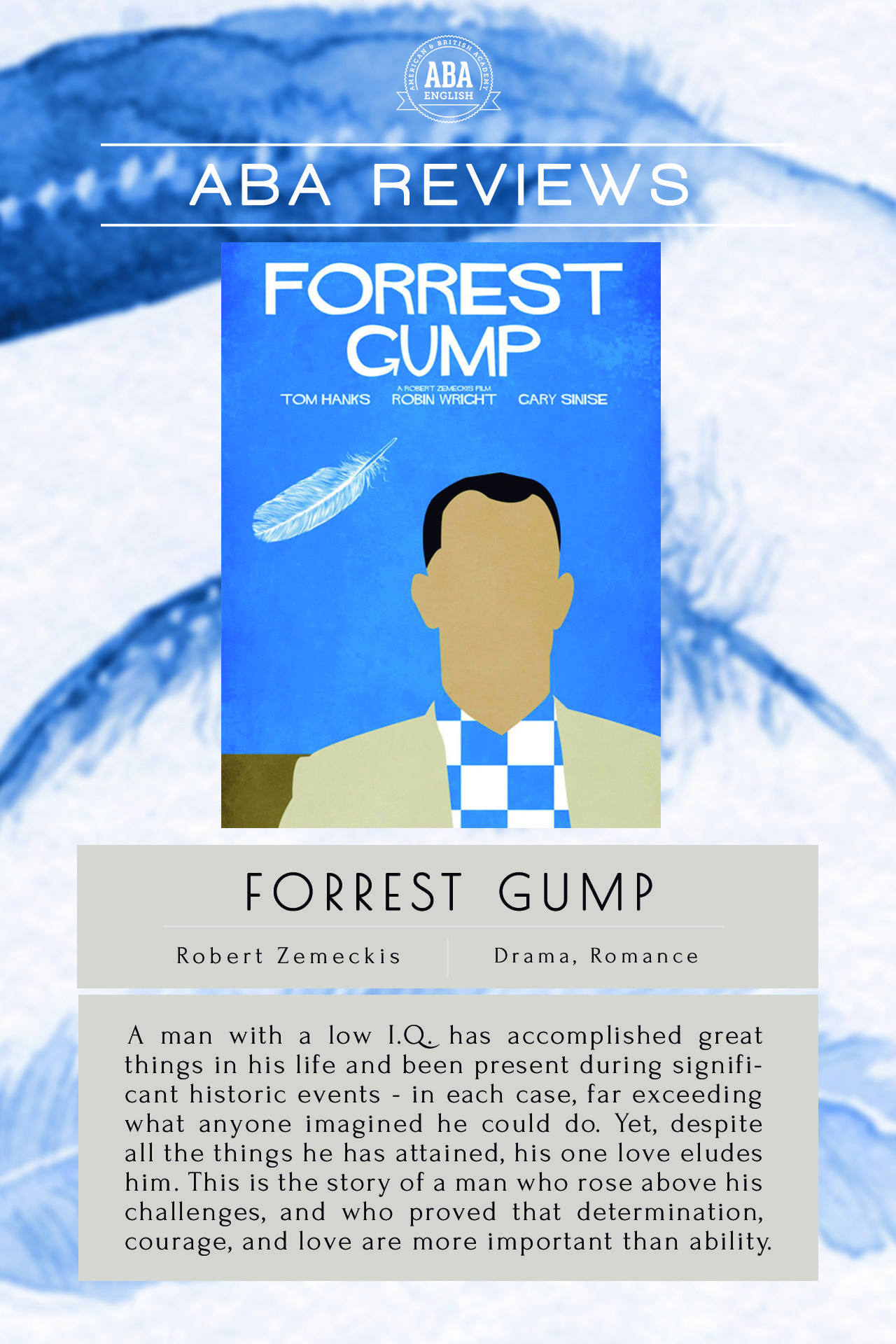Forrest Gump Is A Perfect Movie To Learn English Because