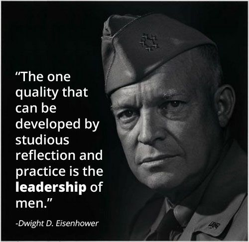 Famous Leadership Quotes Glamorous Leadership Lessons From Dwight Eisenhower  Wisdom Stuffing And