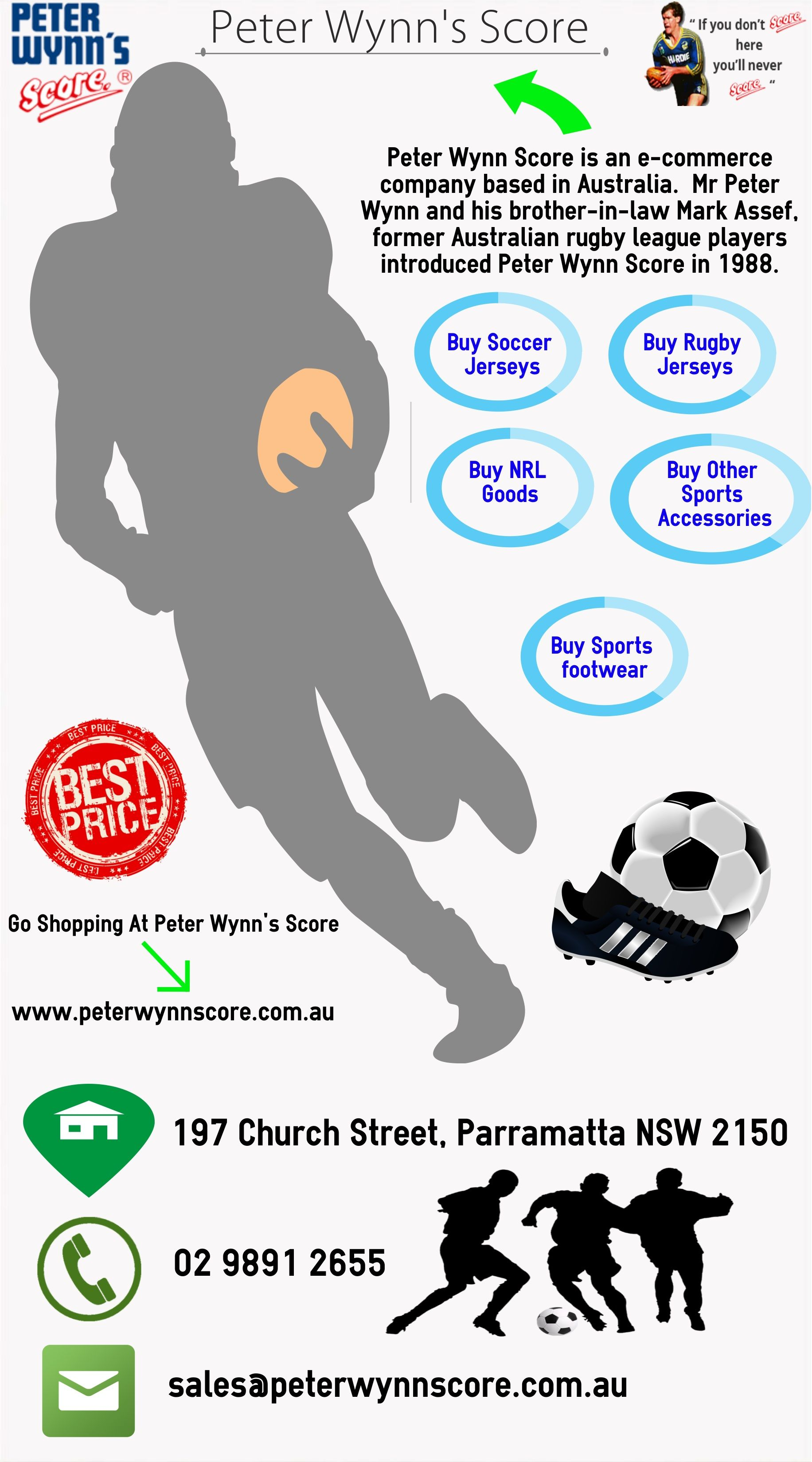94e5cdd9911 Shop online for all your soccer apparel needs from Peter Wynn s Score  because we have the