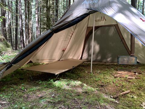 Photo of Megahorn Tipi Wood Stove Jack (4P) Shelter