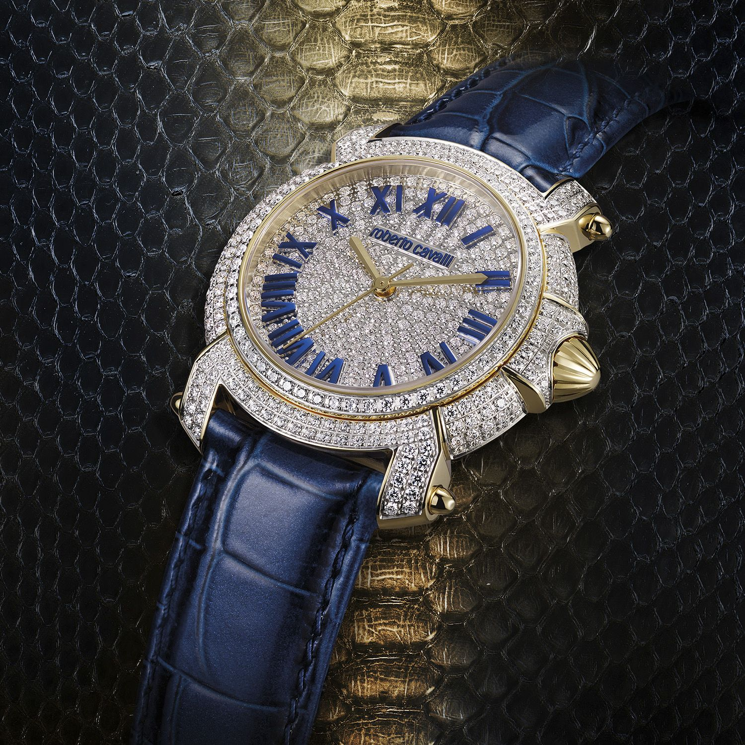 Time is precious the new roberto cavalli by franck muller watches were made incorporating some for Franck muller watches