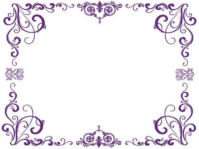 purpleborders pinterest