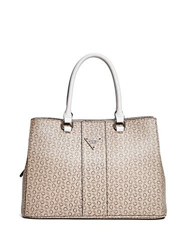 GUESS Women s Camp Logo Girlfriend Satchel   Accessorising - Brand Name   Designer  Handbags For Carry   Wear... Share If You Care! 7a468a6925