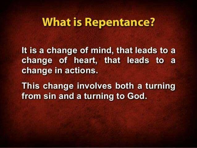 Kuvahaun tulos haulle repentance meaning