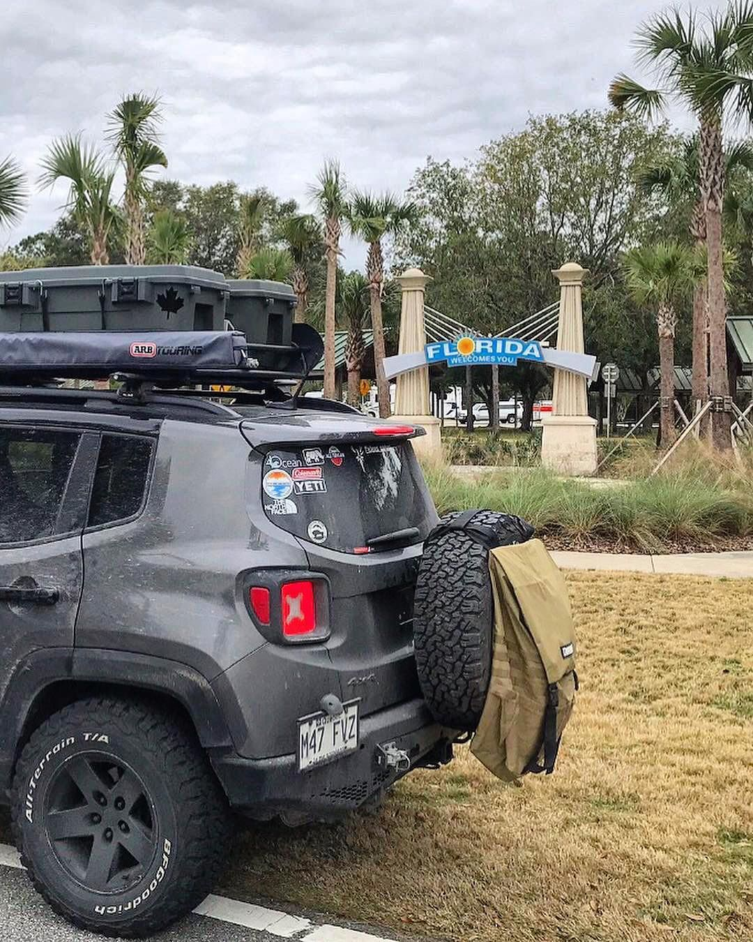 Jeep Renegade On Instagram From Canada Down To Florida America Welcomes You Repost S7even Overland With Repo Jeep Renegade Jeep Renegade Trailhawk Jeep