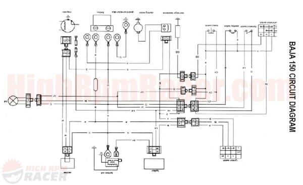 Yamoto 110 Atv Wire Diagram