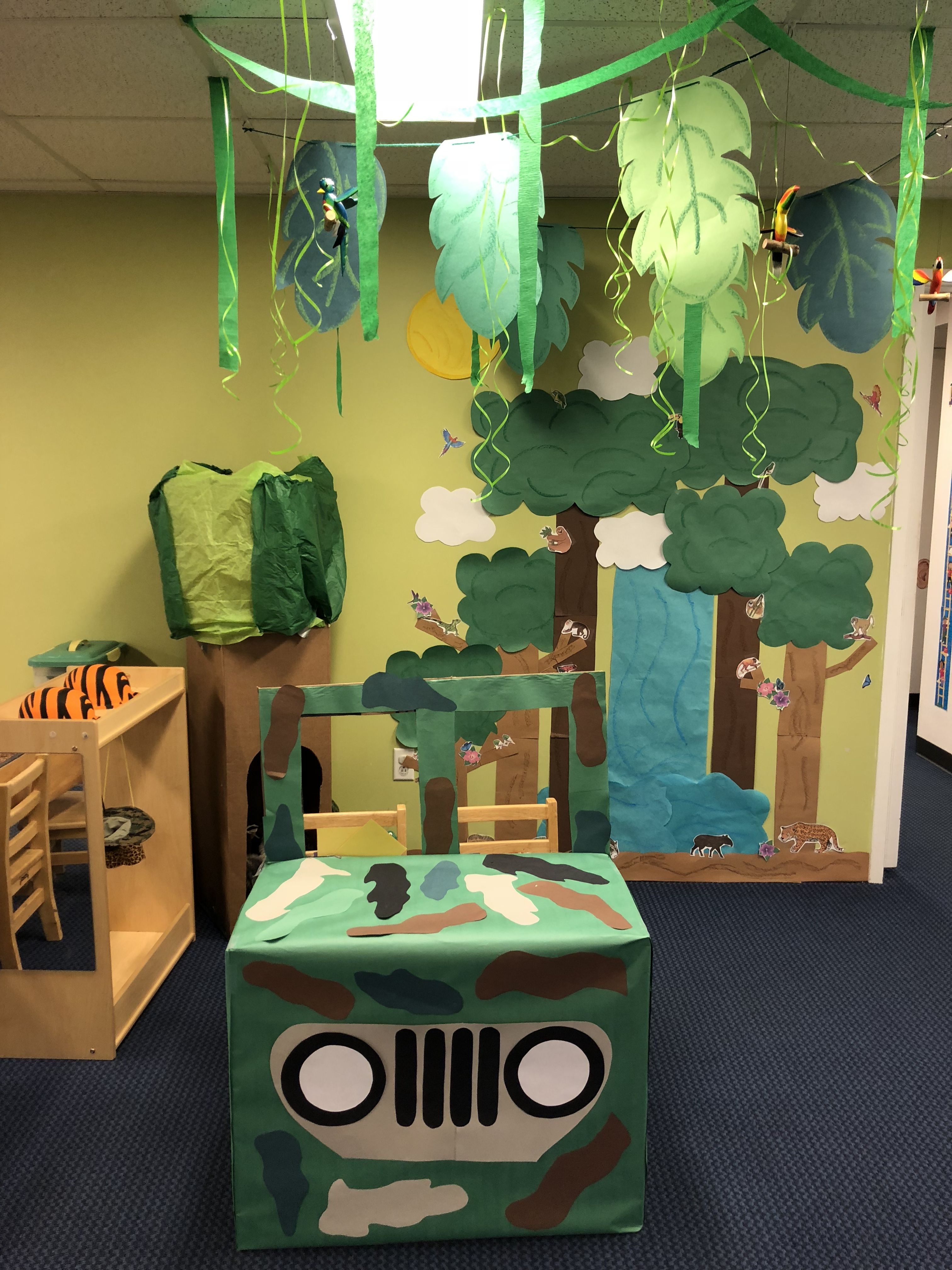 Rainforest dramatic play! Dramatic play activities