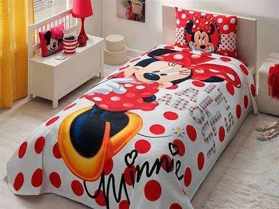 Dormitorios para niñas tema Minnie