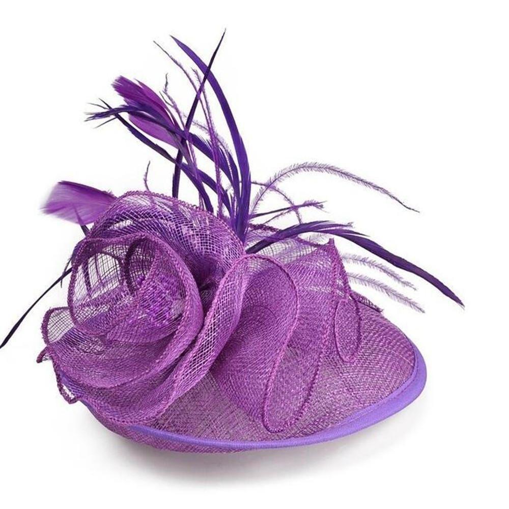 Handmade Wedding hat, Fascinator Hat,Church Hat, Derby Hat, Fancy ...