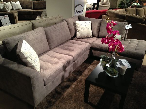 Grey Sectional By Stanton Furniture. // Www.KeyHomeFurnishings.com In  Portland,