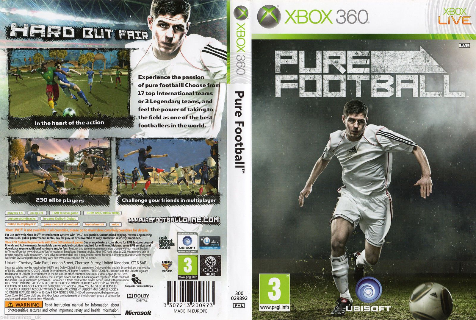 Pure Football Xbox 360 Soccer Game Pal New Sealed View More On The Link Http Www Zeppy Io Product Gb 2 16146988 Soccer Games Pure Products Xbox 360