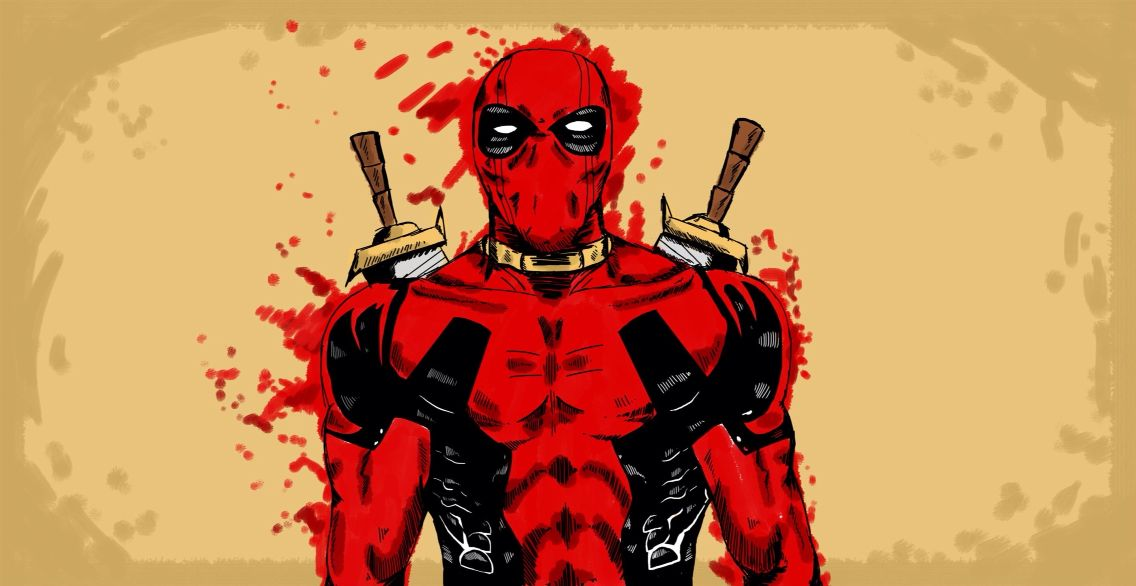 The amazing Deadpool who had a similar personalities as the Joker. But Deadpool isn't as insane as the Joker.