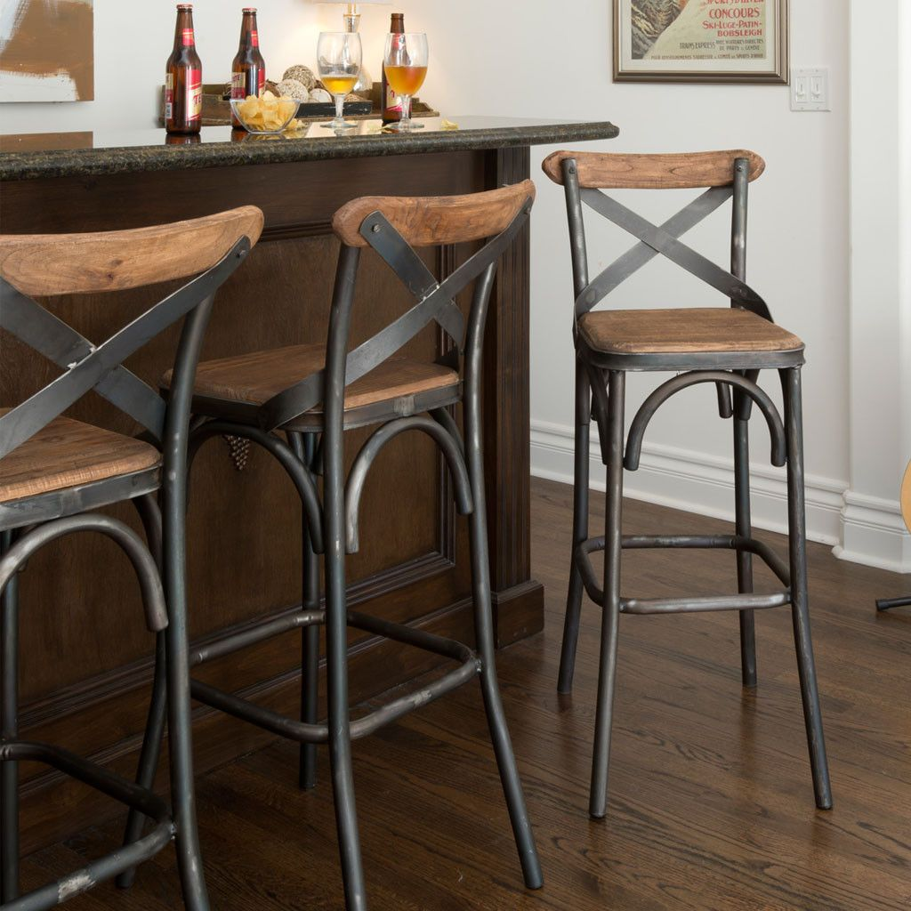 The Cottage Style Inspired Powell Stool Features A Time Honored Craftsmanship With Unique Eal Unsurped For Fashionable Mix Of Old Reclaimed And