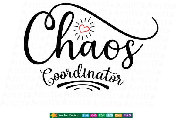 Download Chaos Coordinator SVG (Graphic) by Amitta   Chaos ...