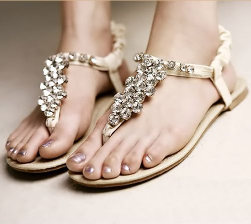 Flat Beach Wedding Shoes For Bride Lovely Indian Photography Desi