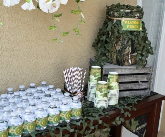 Camo drink station Call of Duty