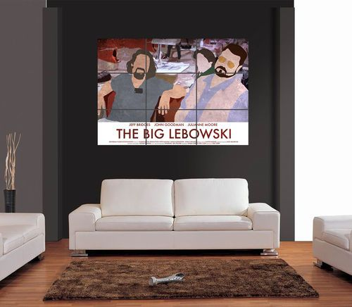 THE BIG LEBOWSKI A3 Multipage Giant Wall Art Print Picture Poster