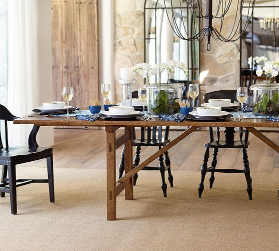 Dining Room Corner Decorating Ideas Space Saving Solutions: Warner Extending Dining Table
