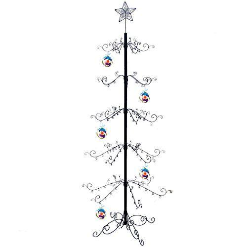 christmas tree hohiya metal christmas ornament display tree stand - Metal Christmas Decoration Stand