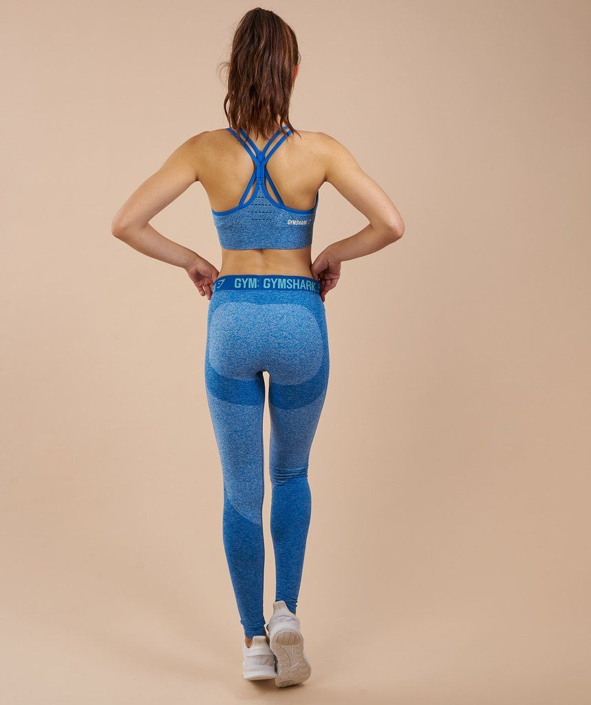c6c55fc9ee31b5 Gymshark Flex Leggings - Blueberry Marl/Marine Blue | christmas 2017 ...