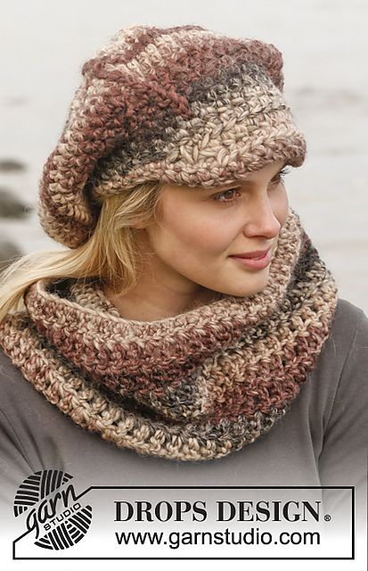 Ravelry: 151-34 Boheme - Neck warmer and cap in Eskimo pattern by ...